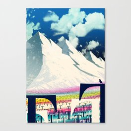 Happy little T's Canvas Print