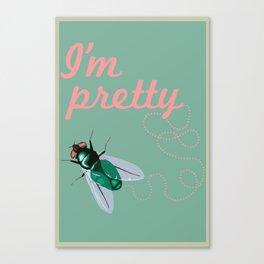 Pretty Fly Canvas Print
