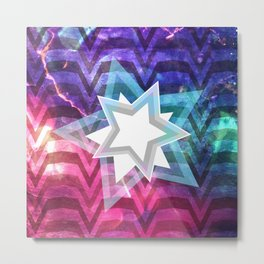 Energy Star Metal Print