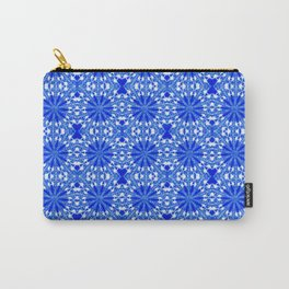 Sapphire Blue Star Carry-All Pouch