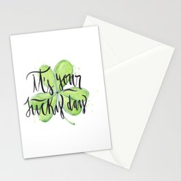 Its Your Lucky Day Stationery Cards