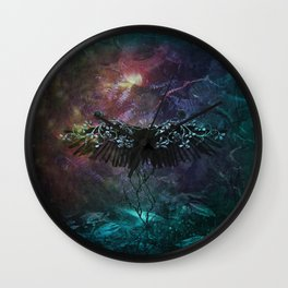 Unknown feelings Wall Clock