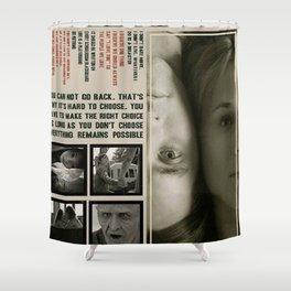 MR NOBODY Movie Poster Shower Curtain
