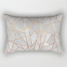 Shattered Concrete Rectangular Pillow