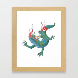 Tail-less Framed Art Print