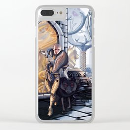 Solas leaves Clear iPhone Case