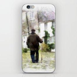 Gold Hill, Shaftesbury, Dorset iPhone Skin