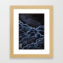 nébuleuse Framed Art Print