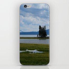 Pelican Creek - Yellowstone Lake iPhone Skin