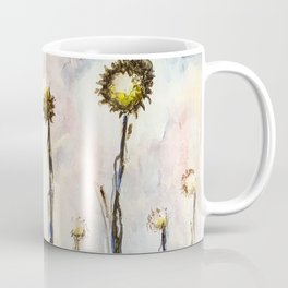 Bird Sings the Sunflower Blues Coffee Mug