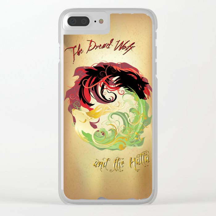The Wolf and the Halla Clear iPhone Case