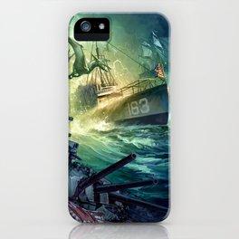 Destroyermen: Unknown Seas iPhone Case