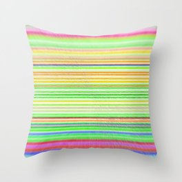 Re-Created  Horizon No. 8 by Robert S. Lee Throw Pillow