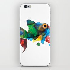 colorful fish iPhone & iPod Skin