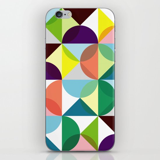 Geometric Pattern #3 iPhone Skin