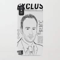 scandal iPhone & iPod Cases featuring Tom Ford Scandal by CLSNYC
