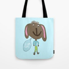 FLUFFY PUPPY Tote Bag