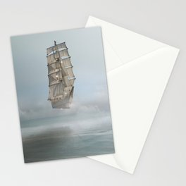 there's no mystery at all Stationery Cards
