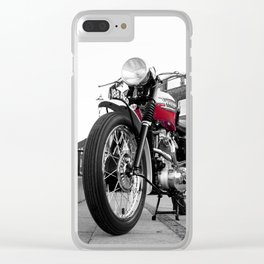 The Trophy TR5 Motorcycle Clear iPhone Case
