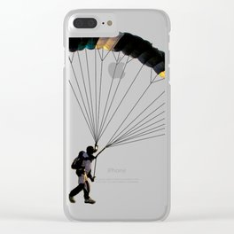 Parachute Clear iPhone Case