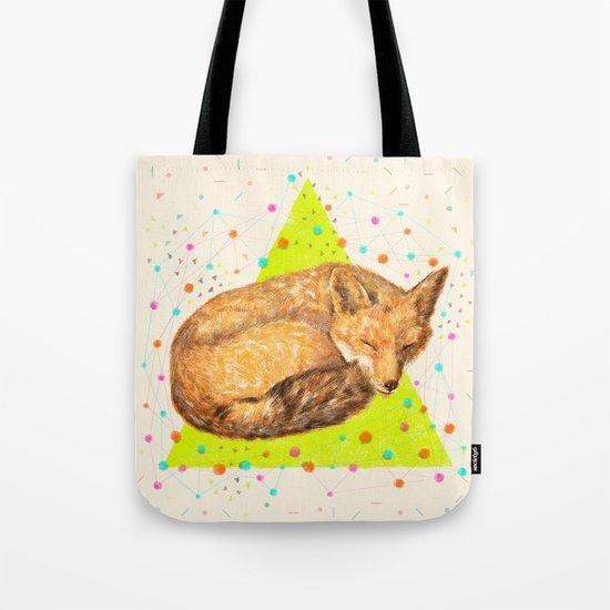 Fox Dream Tote Bag