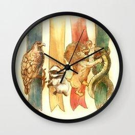 House Brawl Wall Clock