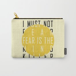 Dune - The Litany Against Fear (BLK) Carry-All Pouch