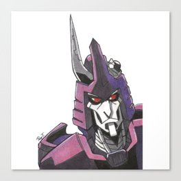 """Not A Decepticon"" - Cyclonus Canvas Print"