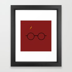 potter Scar Framed Art Print