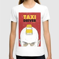 taxi driver T-shirts featuring Taxi Driver by Matthew Bartlett