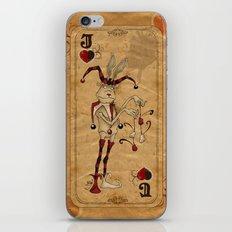 Oddity Playcards - Joker & Queen iPhone & iPod Skin