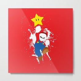 Mario Paint Metal Print