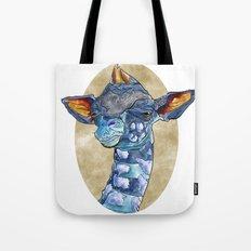 Zen Giraffe - Watercolour Tote Bag