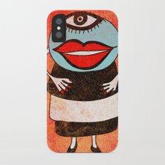 Miss One Eye Slim Case iPhone X