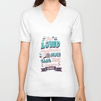paper towns V-neck T-shirts featuring Paper Towns: Mysteries by Risa Rodil