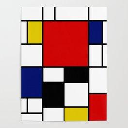 Piet Mondrian Poster
