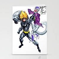 dbz Stationery Cards featuring DBZ why so serious by Unic art