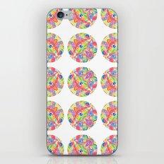 Kaleidoscopic Circles iPhone & iPod Skin