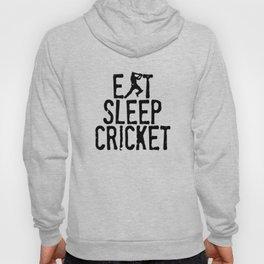 Eat Sleep Cricket Hoody