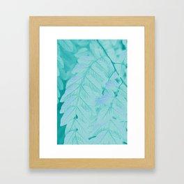 Botanical Leaves - JUSTART (c) Framed Art Print