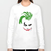 the joker Long Sleeve T-shirts featuring Joker by The Artist
