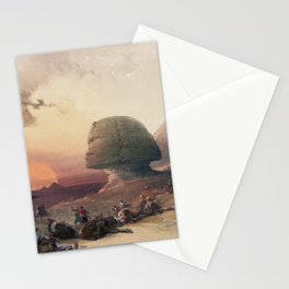 Desert of Gizeh Lithograph Stationery Cards