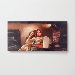 The Dude (pulp fiction) Metal Print