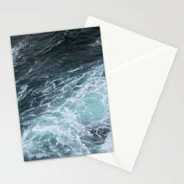 Mendocino High Tide Waves Stationery Cards
