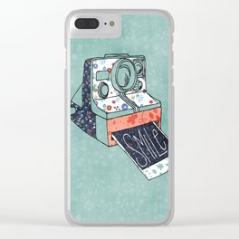 Smile for the Camera Clear iPhone Case