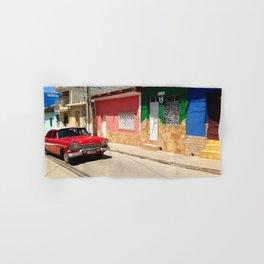 Cars in Cuba Hand & Bath Towel