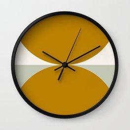 Mid-Century Modern Shape 1 Wall Clock
