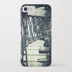 Broadway Bridge, Kansas City Missouri, Urban Grunge Slim Case iPhone 7