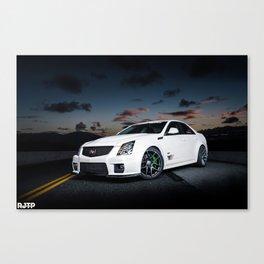 CTS-V Night Canvas Print