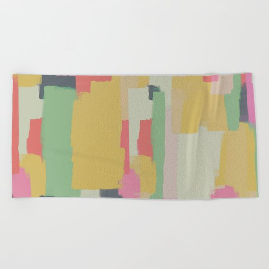 Abstract Painting No. 1 Beach Towel